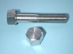 04) 5/16 Stainless 0.445''A/F BSF Bolt Steel x 1-1/4'' HB516114S