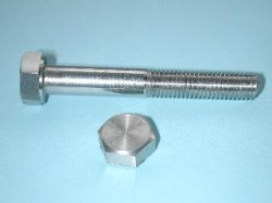 09) 5/16 x 2-1/4'' BSF Bolt Stainless Steel HB516214