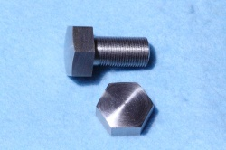 01) 1/2 Cycle Bolt X 1''  Stainless Steel Domed 26 tpi HC12100D