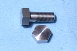 02) 1/2 Cycle Stainless Steel Bolt X 1-1/4'' Domed 26 tpi HC12114D
