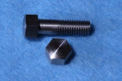 04) 1/4 Stainless BSF Bolt 26tpi x 7/8'' Domed Steel 0.375'' A/F HB14078DS