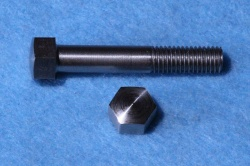07) 1/4 Domed Stainless Steel BSF Bolt 0.375 A/F 26 tpi x 1-1/2''  HB14112DS