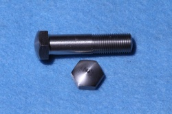 04) 3/8 0.520 A/F Stainless Steel Bolt Cycle Domed X 1-1/2'' HC38112DS - J24