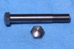 08) 3/8 Cycle (CEI) Bolt Domed Stainless 0.520 A/F X 2-1/2'' - HC38212DS - J60