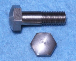 05) 5/16 Cycle (CEI) Stainless Steel Bolt Domed X 1'' - HC516100D