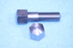 04) 5/16 0.445'' A/F Stainless Steel Bolt Cycle Domed X 1-1/4'' HC516114DS