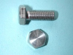 01) M6 16mm Stainless Hex Head Bolt HM0616 - N01