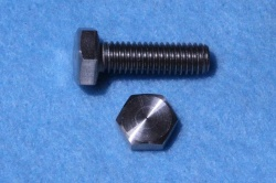 02) M6 20mm Stainless Hex Head Bolt HM0620 - N07