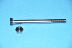 17) M12 140mm Stainless Hex Head Bolt HM12140 - N06