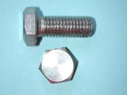 01) M12 30mm Bolt Stainless HM1230 - N06