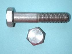 07) M12 60mm Stainless Hex Head Bolt HM1260 - N42