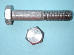 08) M12 65mm Stainless Hex Head Bolt HM1265 - N48