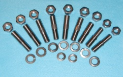 D12/2 Norton Cylinder Barrel Studs Dominator Stainless D01