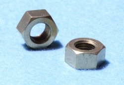 25) 3/8'' BSF 20 tpi Brass Exhaust Mainfold Nut NBF38020B S15