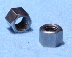 13) 5/16 Cycle Nut 26tpi Small Hex Stainless  NCF51626S - L07