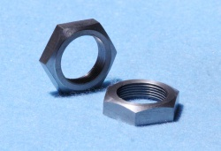 93) 3/4'' Cycle 26 tpi Nut Stainless 1 ich A/Flats NCL34026S Q52