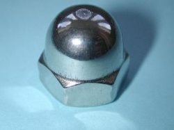90) 14mm Nut Stainless Domed NMD14 - L63