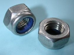 83) 12 mm Nut Stainless Nyloc NMY12 - L24