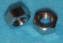 20) 3/8 UNF Nut Stainless Full 24 tpi - NUFF38024 - S37