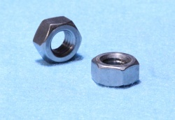 20) 3/8 Whitworth Nut 16 tpi Stainless Full NWF38016 - L28