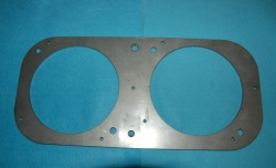 Laverda Fairing Headlamp Bracket (Twin Light)  SHMB