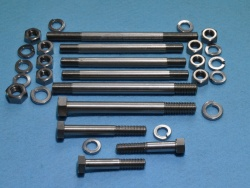 Triumph T120 1967 to 68 Crancase Studs and Bolts T120-67-68