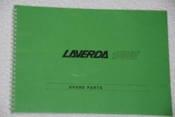 Laverda 3C Pre 76 Parts Manual - P1000