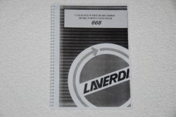 Laverda Zane 668 Parts Manual - P668