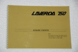 Laverda 750 SF1-2 Parts Manual - P750